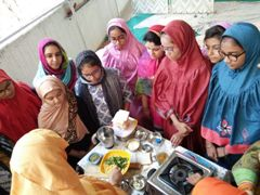 at-Taiyebaat - Fankaari Classes - Cooking, Stitching and Painting