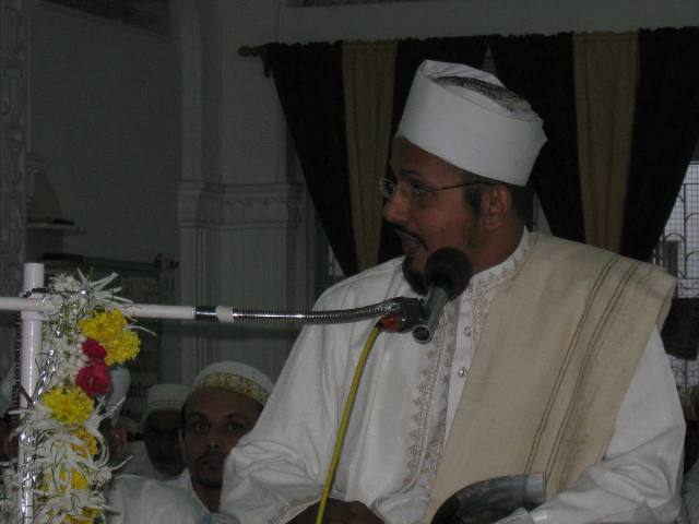 Raas ul-Hudood doing naseehat of mohabbat and ikhlaas at this mubaarak occasion