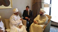 Huzoor e 'Aali TUS's meeting with the Grand Mufti