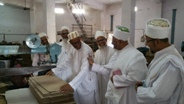 Alavi Bohras: Aqaa Maulaa visited Factories in Sardar Industrial Estate